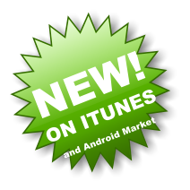 NEW! ON ITUNES and Android Market